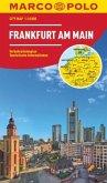 MARCO POLO City Map Frankfurt am Main 1:16.000; Francfort-sur-le-Main