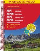 MARCO POLO Reiseatlas Alpen, Norditalien 1:300 000; Marco Polo Alpes, Italie du nord; Marco Polo Alps, Northern Italy