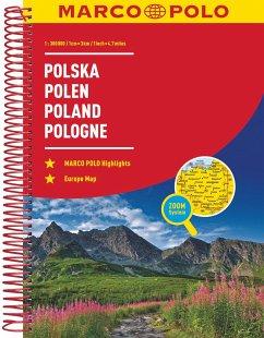 MARCO POLO Reiseatlas Polen 1:300 000; Polska / Poland / Pologne