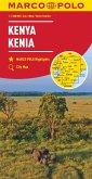 MARCO POLO Länderkarte Kenia 1:1 000 000; Kenya