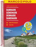 MARCO POLO Reiseatlas Dänemark 1:200 000 / Danmark / Denmark / Danemark