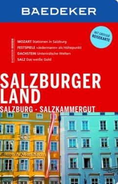 Baedeker Reiseführer Salzburger Land, Salzburg,...