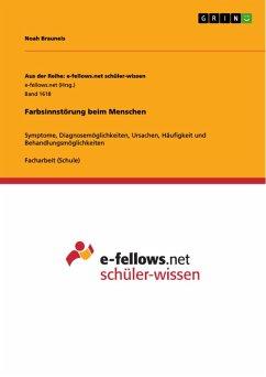 Farbsinnstörung beim Menschen (eBook, PDF)