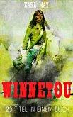 Winnetou - Vollständiger Western Sammelband (25 Titel in einem Buch) (eBook, ePUB)