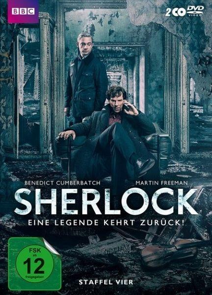 Sherlock - Staffel 4 - Cumberbatch,Benedict/Freeman,Martin