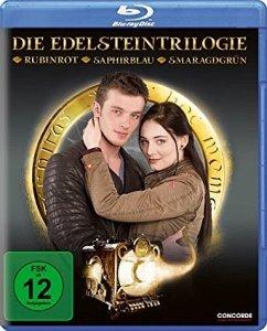 Vorschaubild von Die Edelsteintrilogie - Rubinrot, Saphirblau, Smaragdgrün Bluray Box