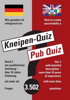 How To Create Successfully A Pub Quiz Von Sabine Marquardt