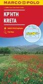 MARCO POLO Karte Kreta / Crete / Crète