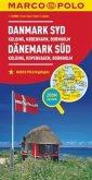 MARCO POLO Karte Dänemark Süd 1:200 000; Denmark South / Dänemark Du Sud / Danmark Syd