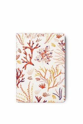 Notizbuch bestickt design koralle buch for Buch design