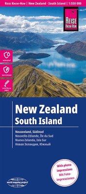 Reise Know-How Landkarte Neuseeland, Südinsel (1:550.000)\New Zealand - South Island\Nouvelle Zélande - Ile du Sud / Nueva Zelanda - Isla Sur - Peter Rump, Reise Know-How Verlag