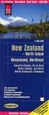 World Mapping Project Reise Know-How Landkarte Neuseeland, Nordinsel (1:550.000); New Zealand - North Island