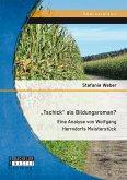 """""""Tschick"""" als Bildungsroman? (eBook, PDF)"""
