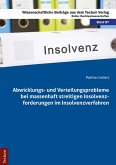 Abwicklungs- und Verteilungsprobleme bei massenhaft streitigen Insolvenzforderungen im Insolvenzverfahren (eBook, PDF)