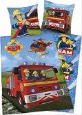Feuerwehrmann Sam Bettwäsche 135x200/80x80cm