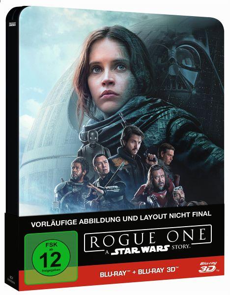 Rogue One - A Star Wars Story (2D+3D) Steelbook