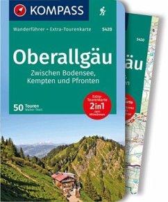 KOMPASS Wanderführer Oberallgäu, Zwischen Bodensee, Kempten und Pfronten - Theil, Walter