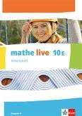 mathe live. Arbeitsheft mit Lösungsheft 10 E. Ausgabe N