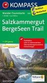Kompass Wander-Tourenkarte Salzkammergut BergeSeen Trail