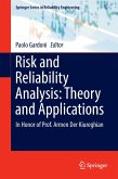 Risk and Reliability Analysis: Theory and Applications