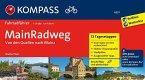 MainRadweg, Von den Quellen nach Mainz