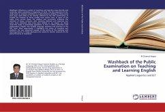 Washback of the Public Examination on Teaching and Learning English