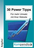30 Powertipps für mehr Erfolg mit Ihrer Website (eBook, ePUB)