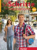 Medienpaket, 6 Audio-CDs und 1 DVD zum Kursbuch / Schritte international Neu - Deutsch als Fremdsprache Bd.3/4