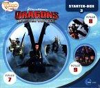 Dragons - Die Reiter von Berk - Starter-Box, 3 Audio-CD