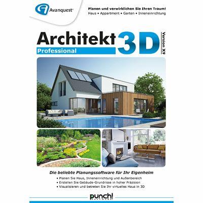 Architekt 3d x9 professional download f r windows for Architekt 3d professional