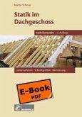 Statik im Dachgeschoss nach DIN 1052, 2. Aufl. (eBook, PDF)
