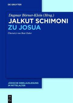 Jalkut Schimoni zu Josua (eBook, ePUB)