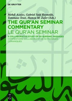 The Qur'an Seminar Commentary / Le Qur'an Seminar (eBook, ePUB)