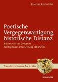 Poetische Vergegenwärtigung, historische Distanz (eBook, ePUB)
