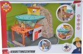 Simba 109251003 - Feuerwehrmann Sam, Bergrettungszentrum mit Figur