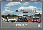 DTM 2017 - 24 Fahrer, 18 Rennen, 1 Champion (Wandkalender 2017 DIN A3 quer)