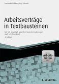 Arbeitsverträge in Textbausteinen - inkl. Arbeitshilfen online (eBook, PDF)