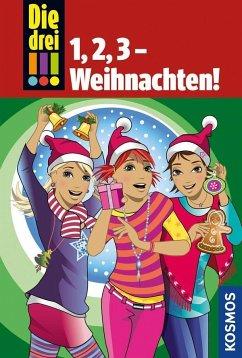 Die drei !!!, 1,2,3 - Weihnachten! (drei Ausrufezeichen) (Mängelexemplar) - Vogel, Maja von; Wich, Henriette