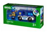 BRIO 33825 - Polizeiwagen mit Licht und Sound