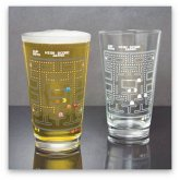 PAC-MAN Farbwechsel Glas 300ml