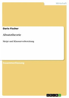 Absatztheorie (eBook, ePUB)