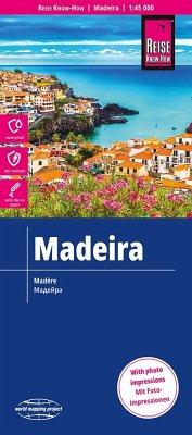 Reise Know-How Landkarte Madeira (1:45.000)