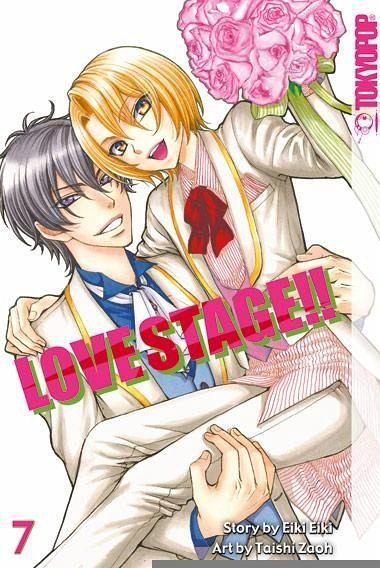 Buch-Reihe Love Stage!!