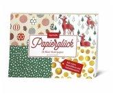Papierglück - Design Weihnachten klassisch, 26 Blatt Motivpapier