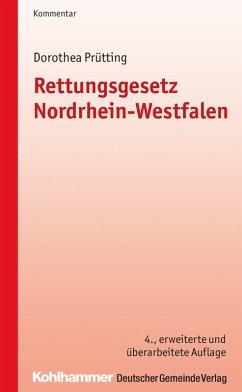 Rettungsgesetz Nordrhein-Westfalen (eBook, ePUB) - Prütting, Dorothea