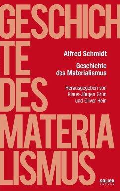 Geschichte des Materialismus - Schmidt, Alfred