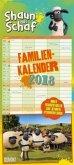 Shaun das Schaf Familienkalender 2018