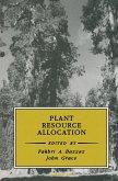 Plant Resource Allocation (eBook, ePUB)