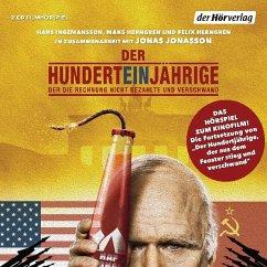 Der 101-Jährige, der die Rechnung nicht bezahlte und verschwand, 2 Audio-CDs - Jonasson, Jonas; Ingemansson, Hans; Herngren, Mans