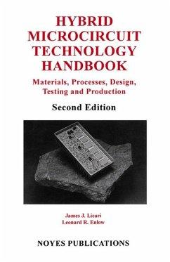 Hybrid Microcircuit Technology Handbook (eBook, ePUB) - Licari, James J.